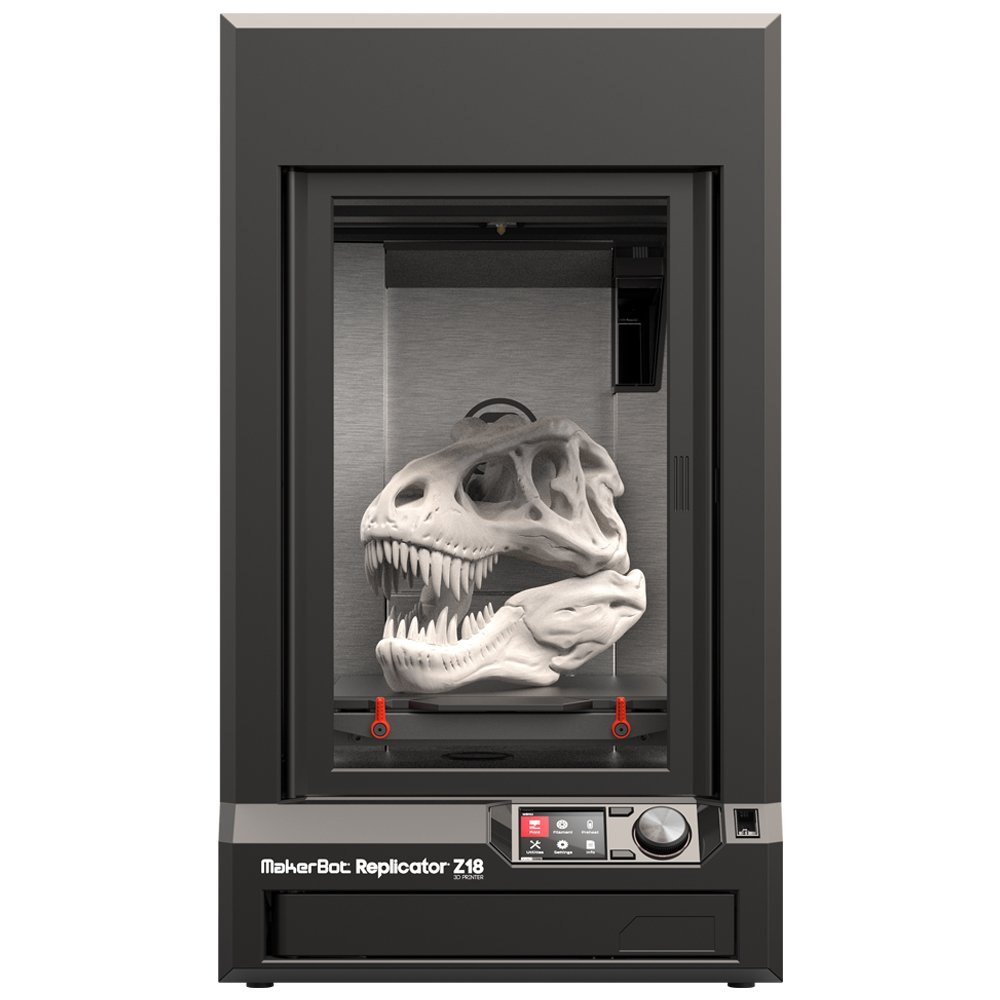Honest 3D Printer Review MakerBot Replicator Z18