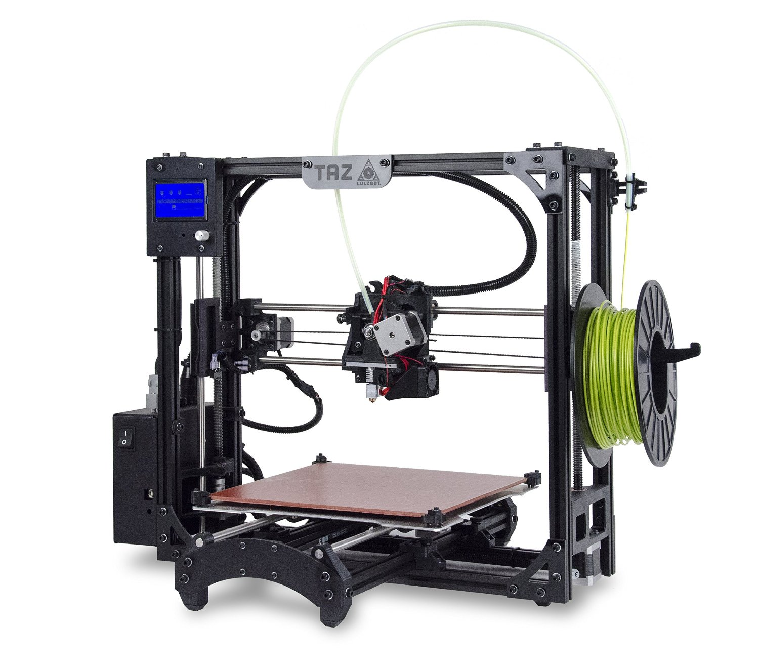 Review 3D Printer: New LulzBot TAZ 5 single and dual extruders