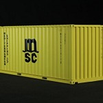 120-MSC-Shipping-Container-20-ABS-Resin-Wood-0-0