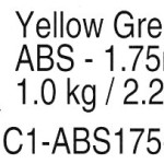 Prototype-Supply-175mm-ABS-Yellow-Green-3D-Printing-Filament-1kg-22-pounds-0