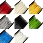 rigidink-Sample-of-ALL-8-Colors-of-the-Best-Pure-Filament-for-3D-Printers-and-Pens-003mm-Tolerance-16ft-5m-each-ABS-285mm-0