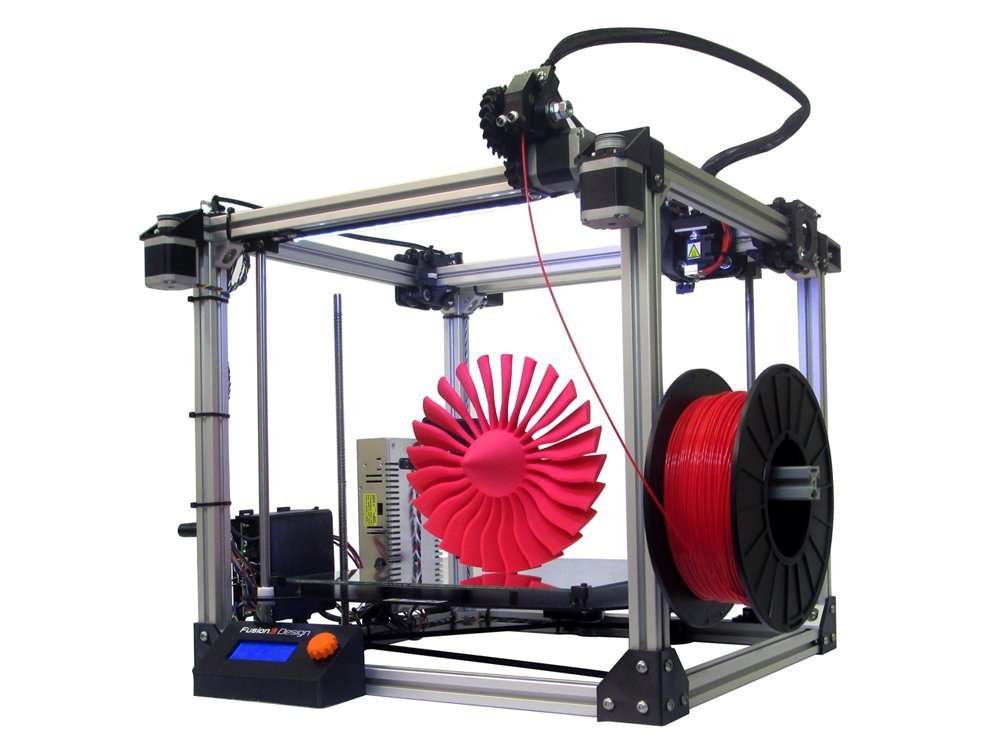 Full reviews of Fusion3 F306 3D Printer single extruder